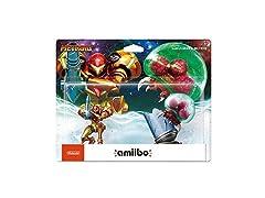 Nintendo Amiibo Samus Aran and Metroid