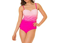 Coco Limon One Piece Missy Swimsuit, Pink