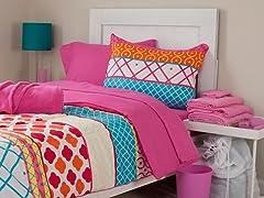 Terri 26pc Reversible Dorm Set-Full