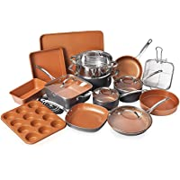 Deals on Gotham Steel 20-Piece All-in-One Kitchen Cookware and Bakeware Set
