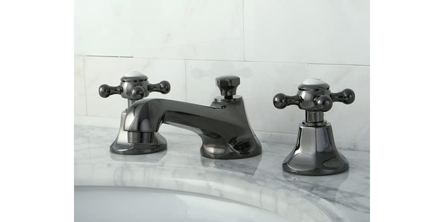 Lavatory Faucet W Pop Up Black Nickel