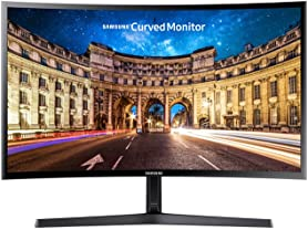 "Samsung 27"" Full-HD Curved LED-backlit Monitor"