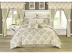 Chic Home Hailee 24-Piece Comforter set