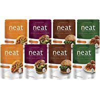 8-Pack Neat A Healthy Replacement for Meat Vegan Meat Replacement