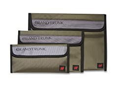 Grand Trunk Travel Field Pouches 3-Pack