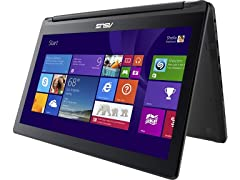 """Asus 15.6"""" Full-HD Intel i7 Convertible Touch Laptop"""