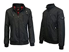 Mens Lightweight Moto Bomber Jackets