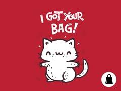 I got your bag!