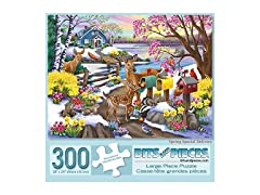300 Piece Jigsaw Puzzle for Adults