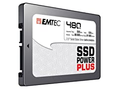 "EMTEC 480GB 2.5"" SATA III Internal SSD"