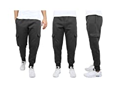 Men's Heavyweight FleeceLined Cargo Jogger