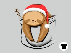 Holiday Pocket Sloth