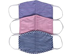 Small Cotton Reusable Face Mask (3-Pack)