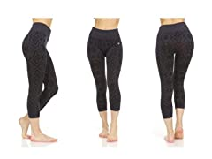 Women's Active Athletic Capri Leggings
