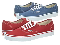Vans  Authentic Slim - 6 Colors