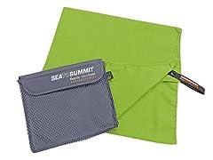 Sea to Summit DryLite Towel, X-Large, Green