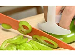 Cutting And Slicing Plastic Finger Guard