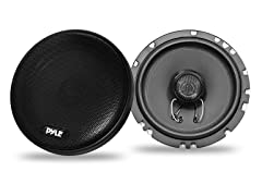 "6.5"" 200W Slim Mount 2-Way Coax Speakers"
