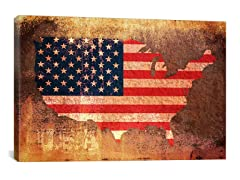 USA Flag Map by Tompsett (Your Choice)