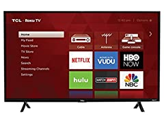 "TCL 43S303 43"" LED 1080P120HZ WiFi ROKU"