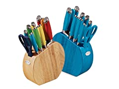 Fiesta 11-Piece Cutlery Set - 5 Colors