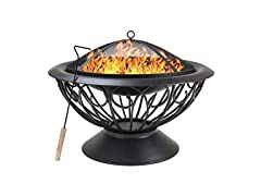 Sorbus 30 Fire Pit w/Safety Mesh Screen