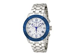 Invicta Men's Pro Diver Chronograph, Blue