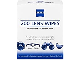 Zeiss Vision Pre Moistened Lens Cleaning Wipes
