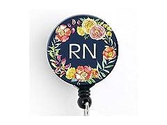 RN Retractable Badge Reel