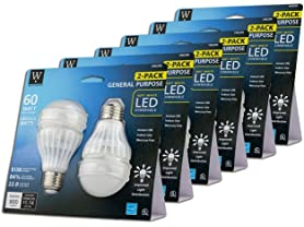 A19 LED Omni Bulb (12-Pack)