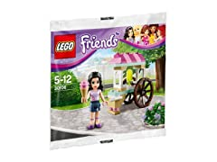 Lego Friends Emma with Ice Cream Stand