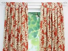 Bellingrath Tab Curtain Panel-3 Sizes