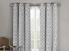 Duck River Harris Triple Layered Room Darkening Curtains