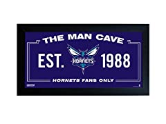 Charlotte Hornets Man Cave Sign