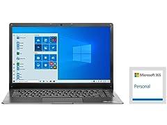 "EVOO 14"" Full-HD Notebook w/1-Yr Office365"