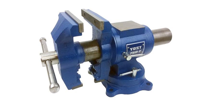 Yost 750-E Rotating Bench Vise - $79.99 + $5 standard shipping