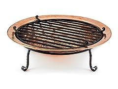 Large Copper Fire Pit