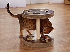 So Catty Cardboard Cat Scratcher