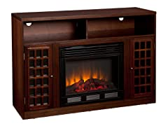 Narita Media Espresso Electric Fireplace