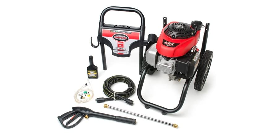 Simpson Gas Pressure Washer Honda Engine