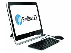"HP 23"" AMD Quad-Core AIO Desktop"