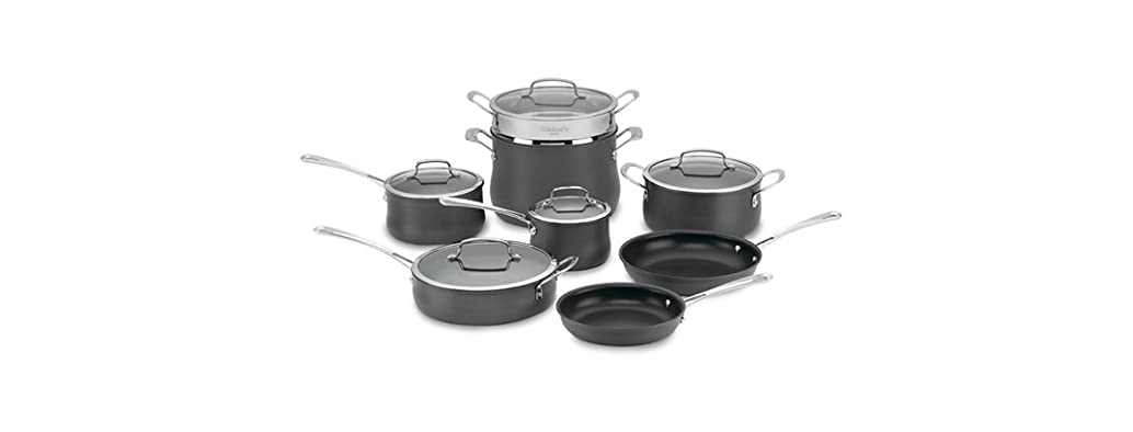Cuisinart 13-Pc Hard Anodized Set