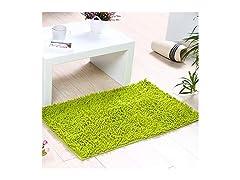 YASSUN Chenille Bathroom Rug Mat, Green…