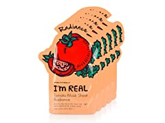 I'm Real Tomato Mask Sheet - 5 Pack