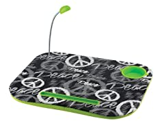 Laptop Cushion - Peace Sign
