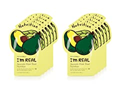 I'm Real Avocado Mask Sheet - 10 Pack