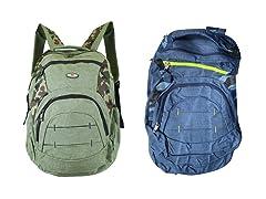 2-Pack Assorted Camo Backpacks