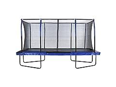 Upper Bounce Easy Assemble Mega 8' X 14' Rectangular Trampoline