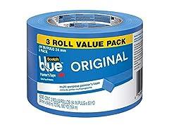 ScotchBlue Painters Tape 3 Rolls