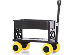 Mighty Max Cart PO600C-BK-YL Expandable Multi-Purpose Utili